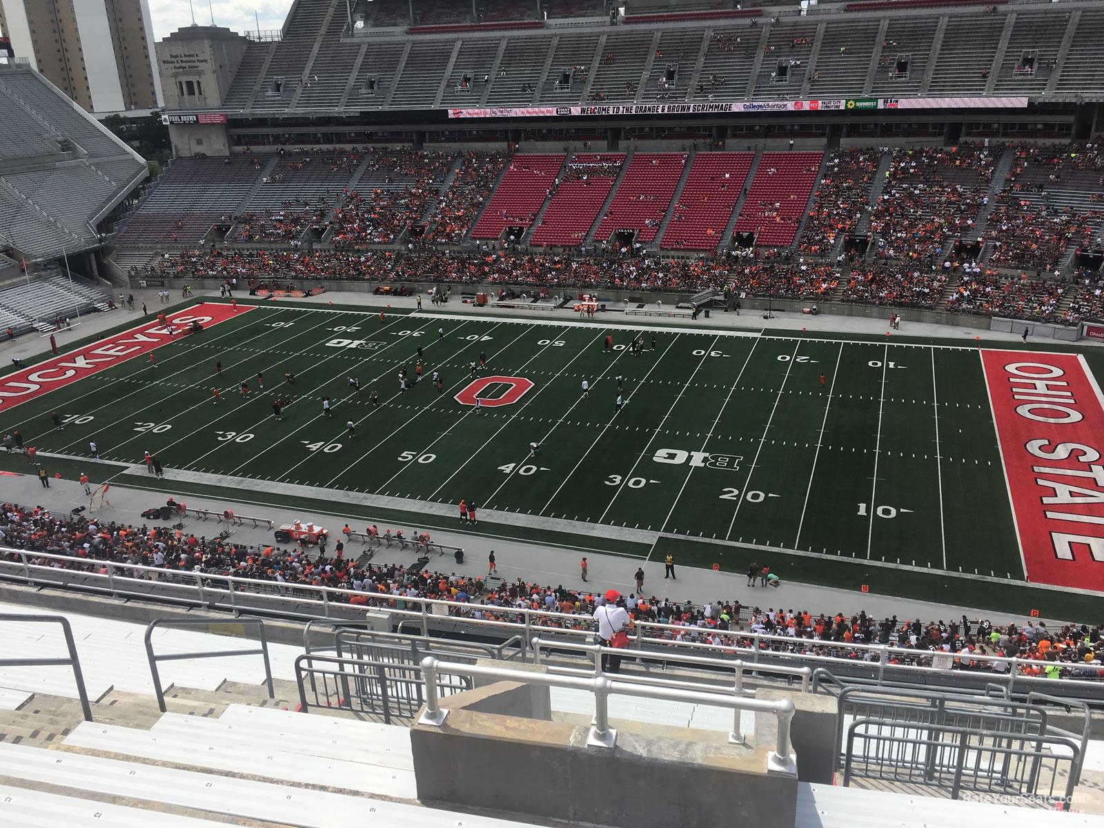 Ohio Stadium Section 18c Rateyourseats Com