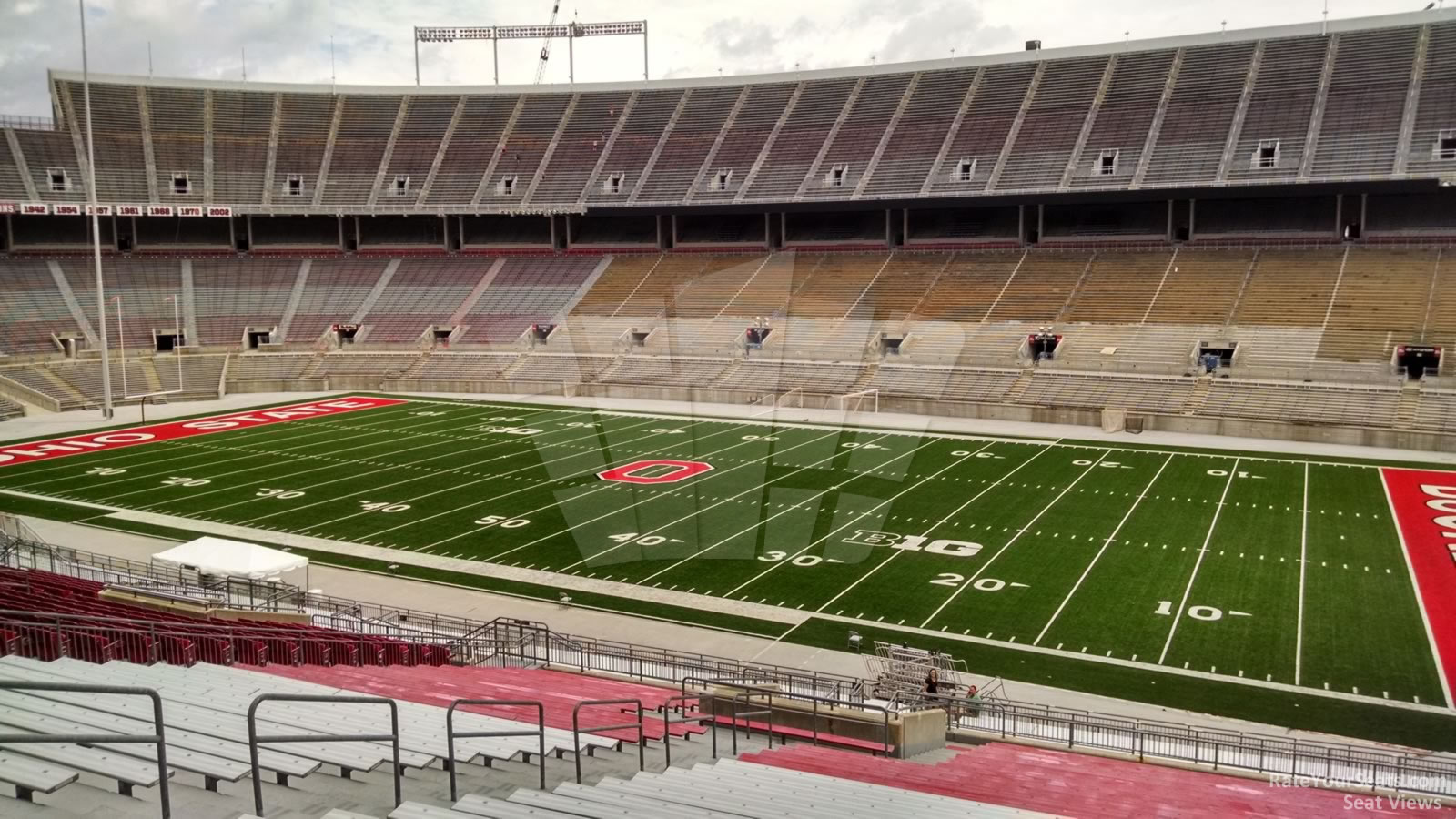 Ohio Stadium Section 25a Rateyourseats Com