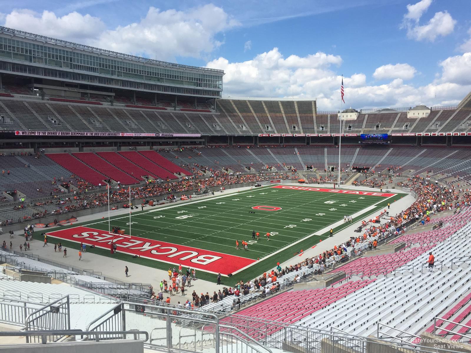 Ohio Stadium Section 32b Rateyourseats Com