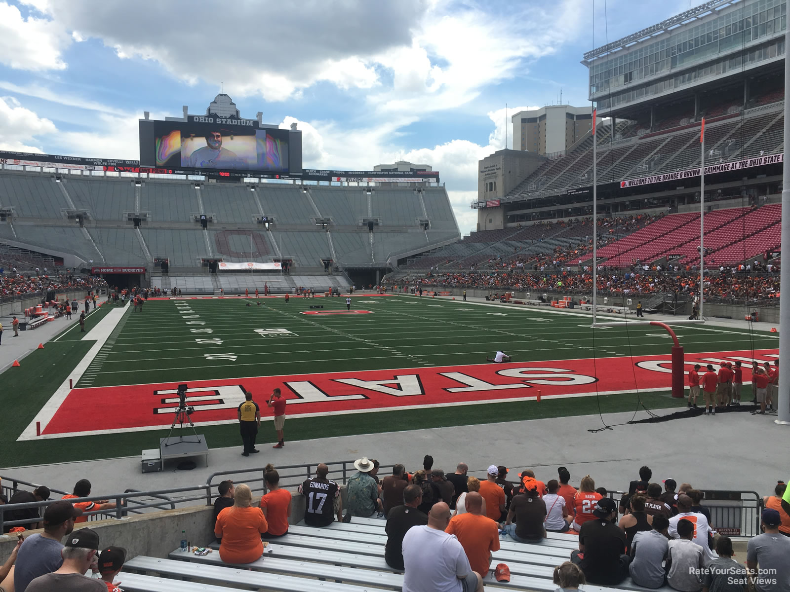 Ohio Stadium Section 6aa Rateyourseats Com