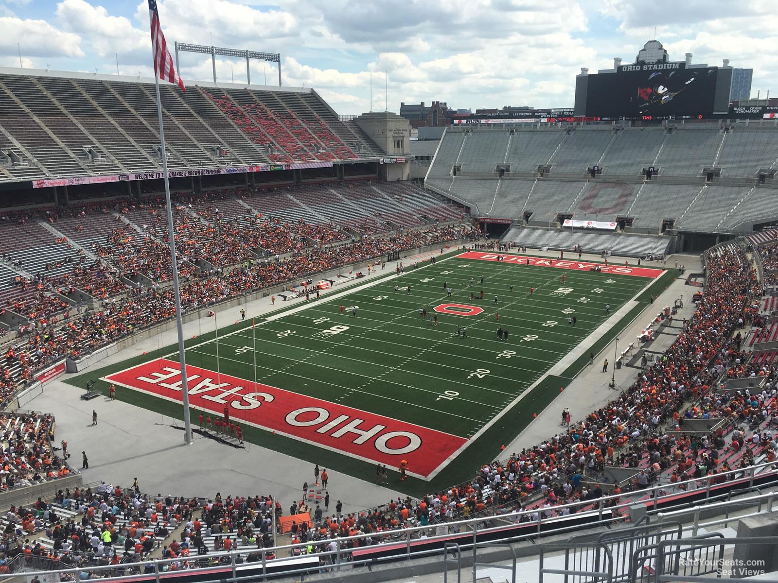 Ohio Stadium Section 7c Rateyourseats Com