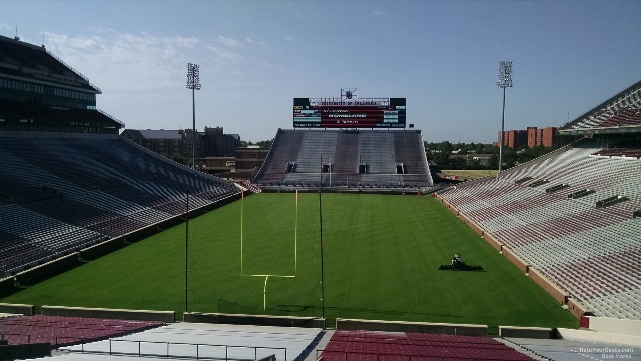 Oklahoma Memorial Stadium Section 17 Rateyourseats Com