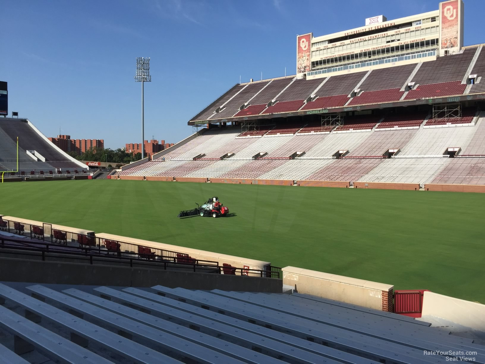 Oklahoma Memorial Stadium Section 26 Rateyourseats Com