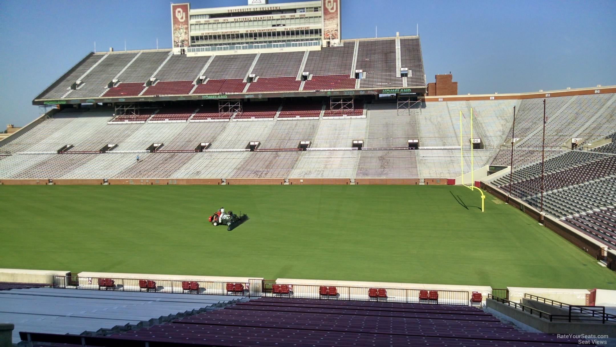 Oklahoma Memorial Stadium Section 27 - RateYourSeats.com