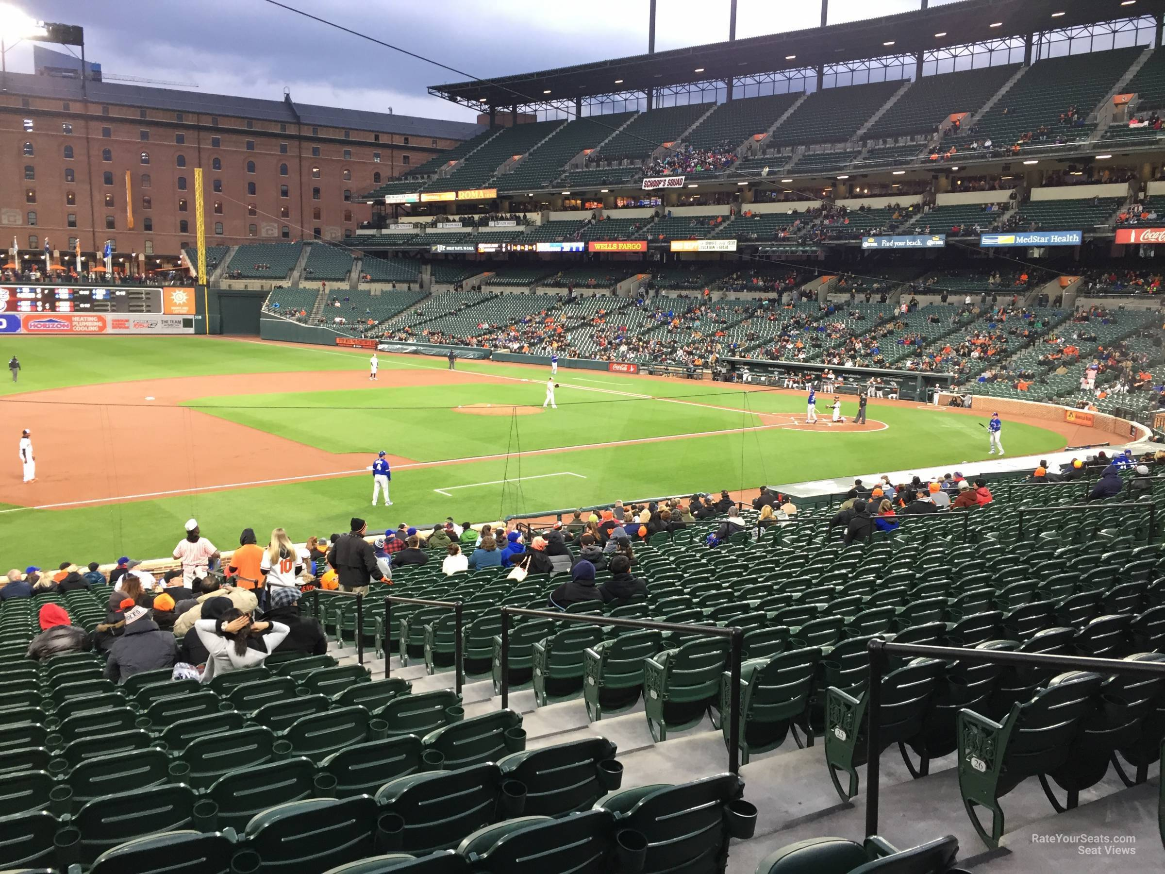 Oriole Park Section 58 Rateyourseats Com