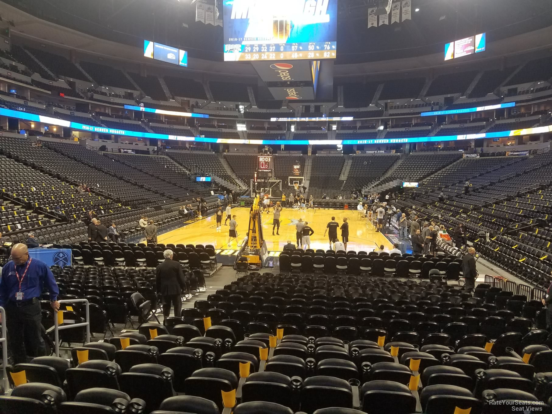 Pepsi Center: 21 Best Pepsi Center Seating Chart Nuggets