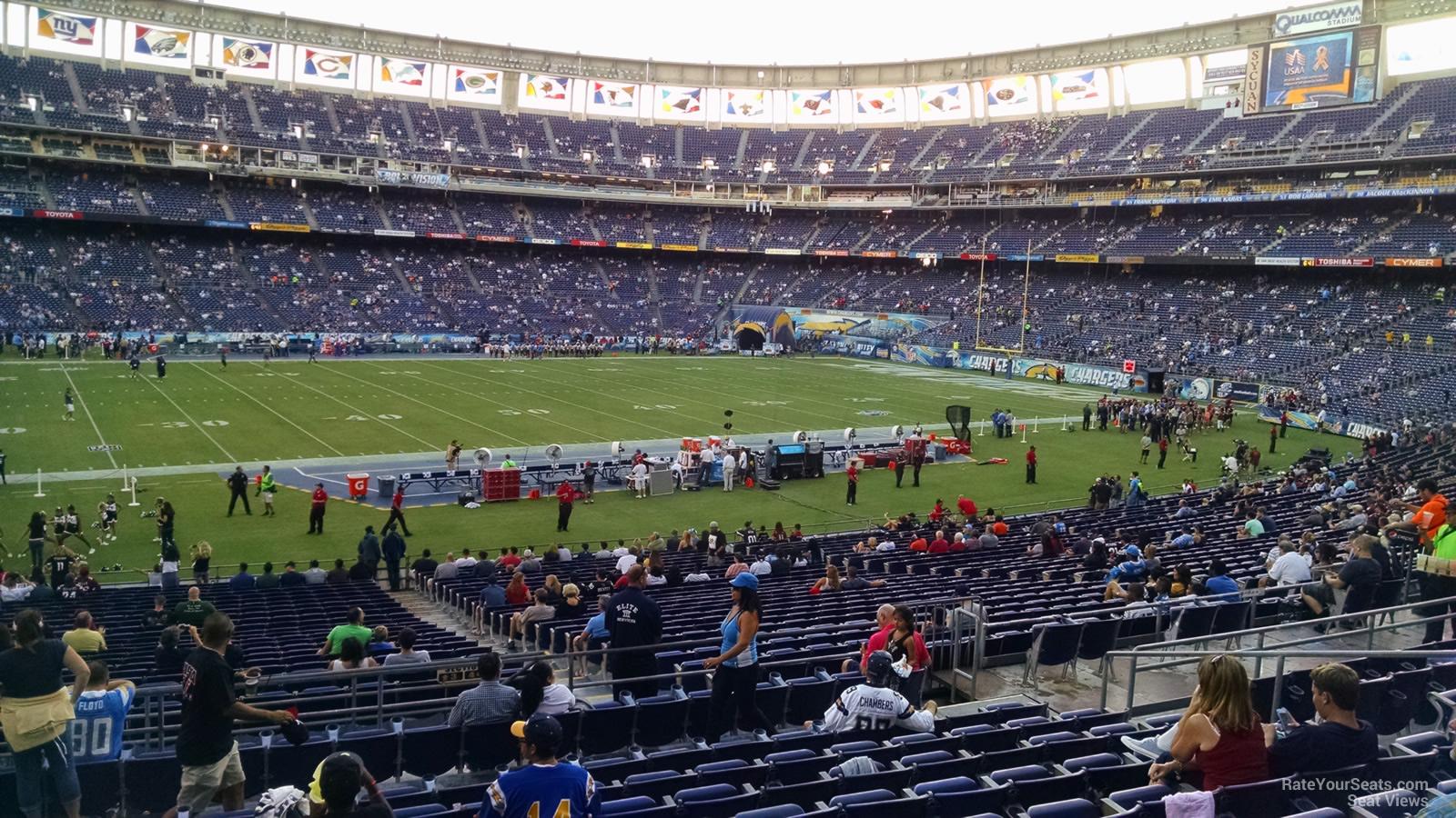 Qualcomm Stadium Plaza 3 Rateyourseats Com