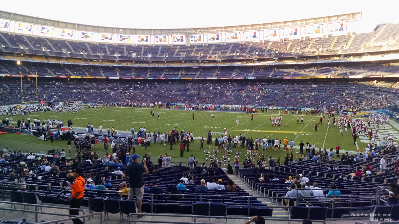 Qualcomm Stadium Plaza 41 Rateyourseats Com