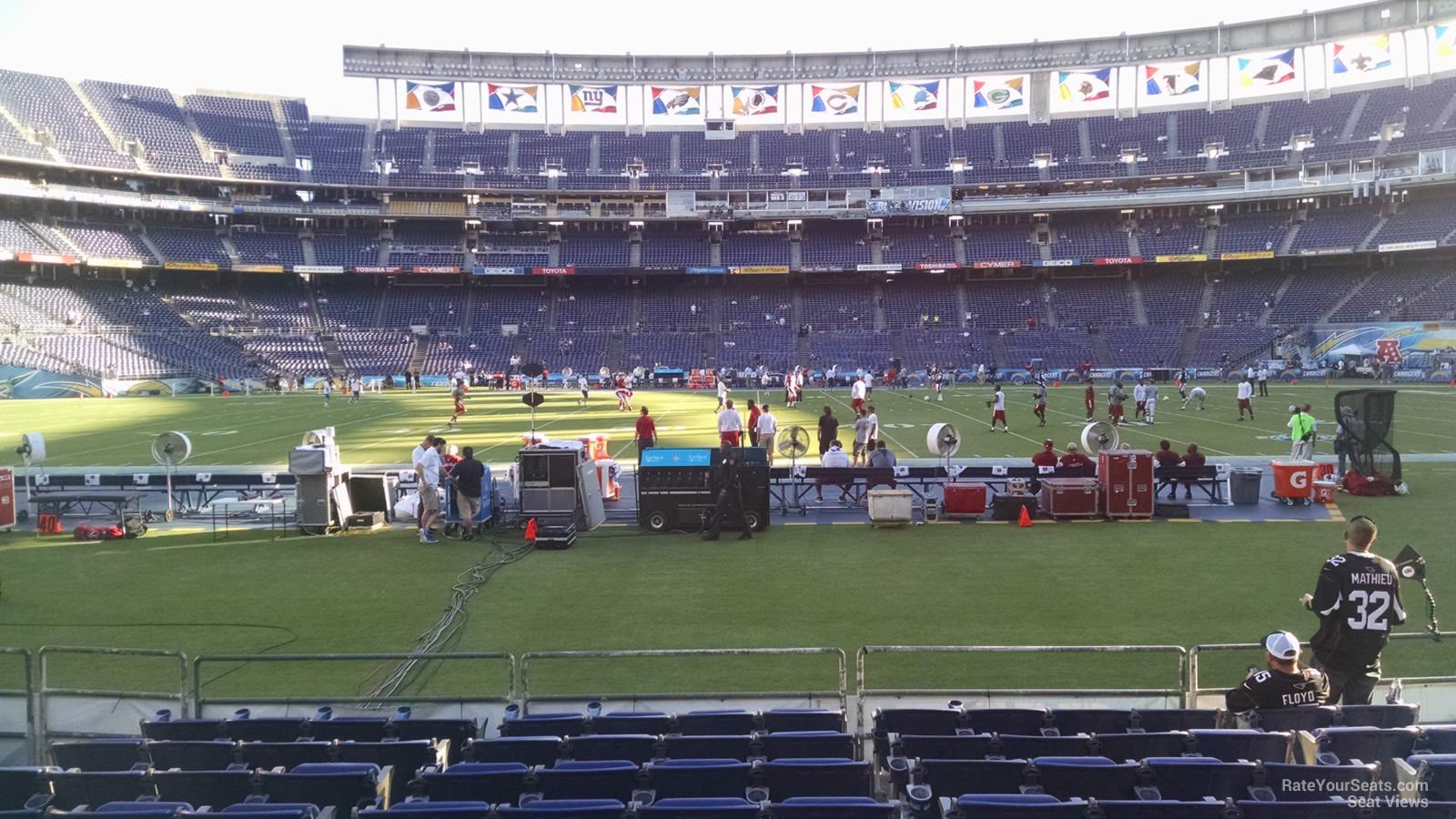 Qualcomm Stadium Field 6 Rateyourseats Com