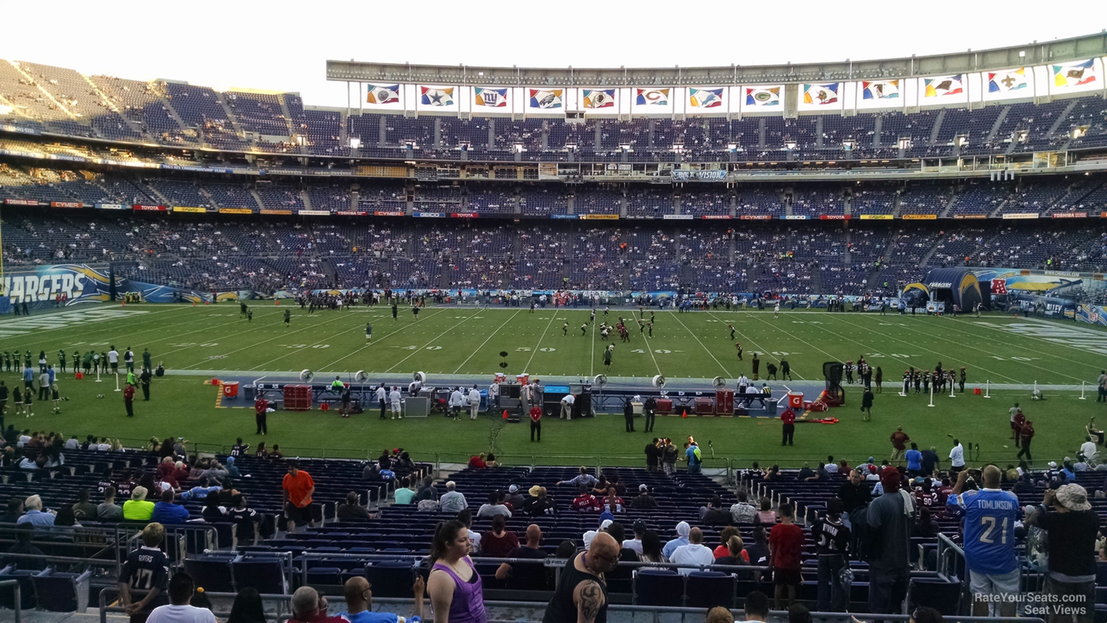 Qualcomm Stadium Plaza 6 Rateyourseats Com