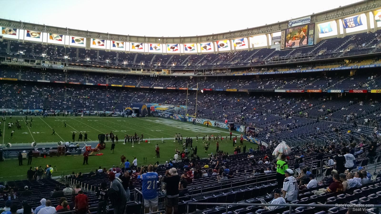 Qualcomm Stadium Plaza 6 Rateyourseats Com