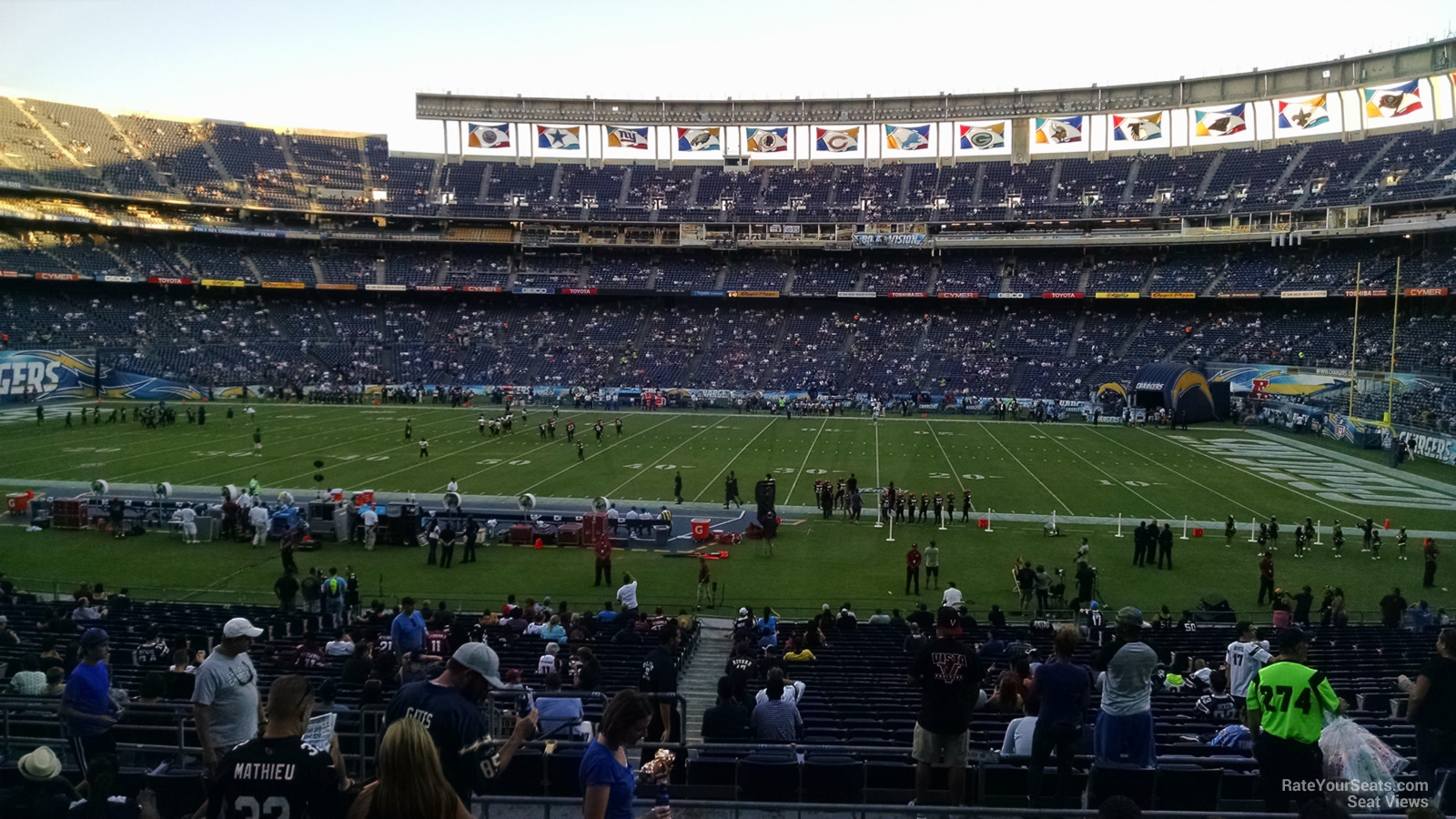 Qualcomm Stadium Plaza 8 Rateyourseats Com