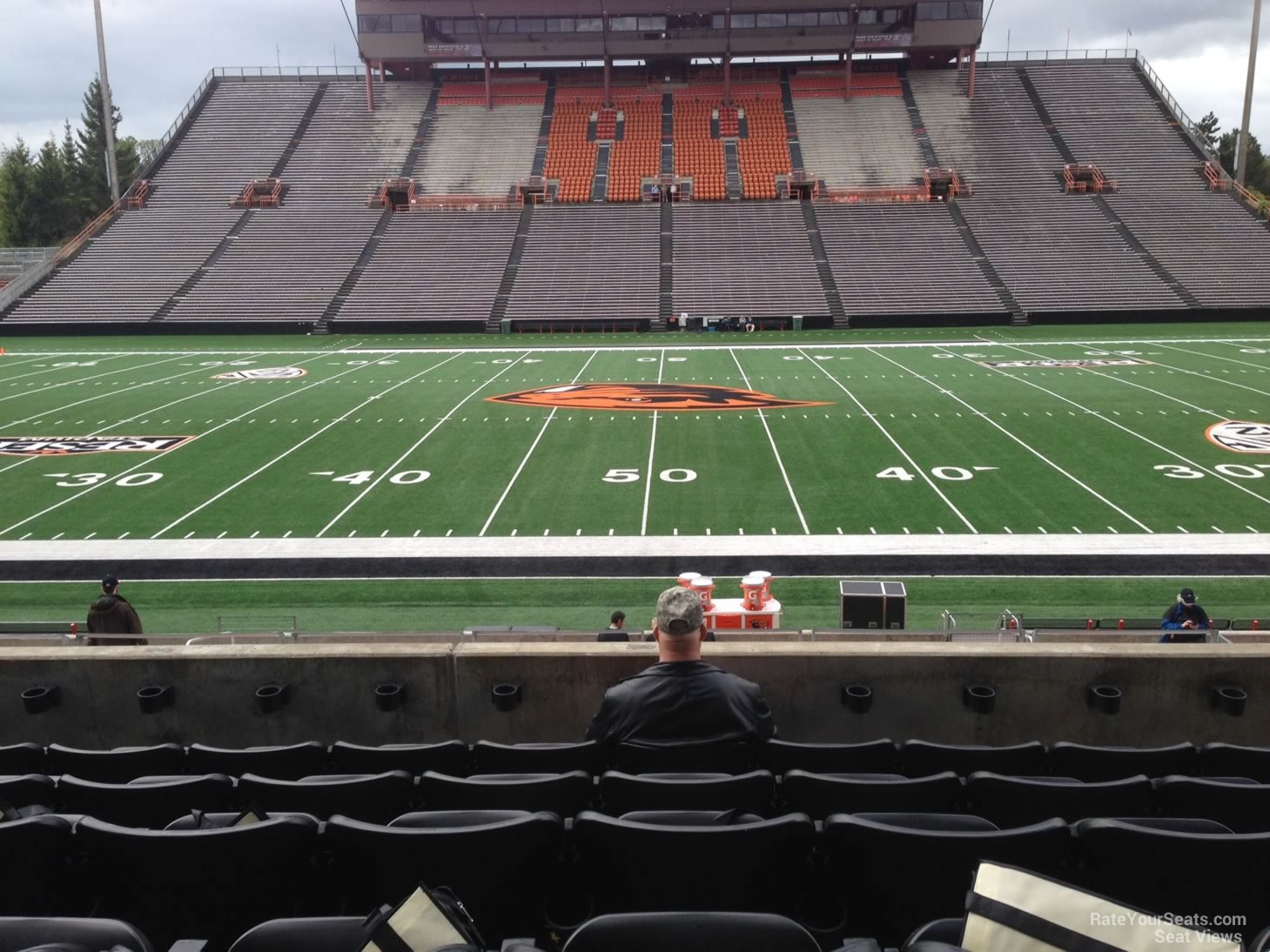 Reser Stadium Section 116 Rateyourseats Com
