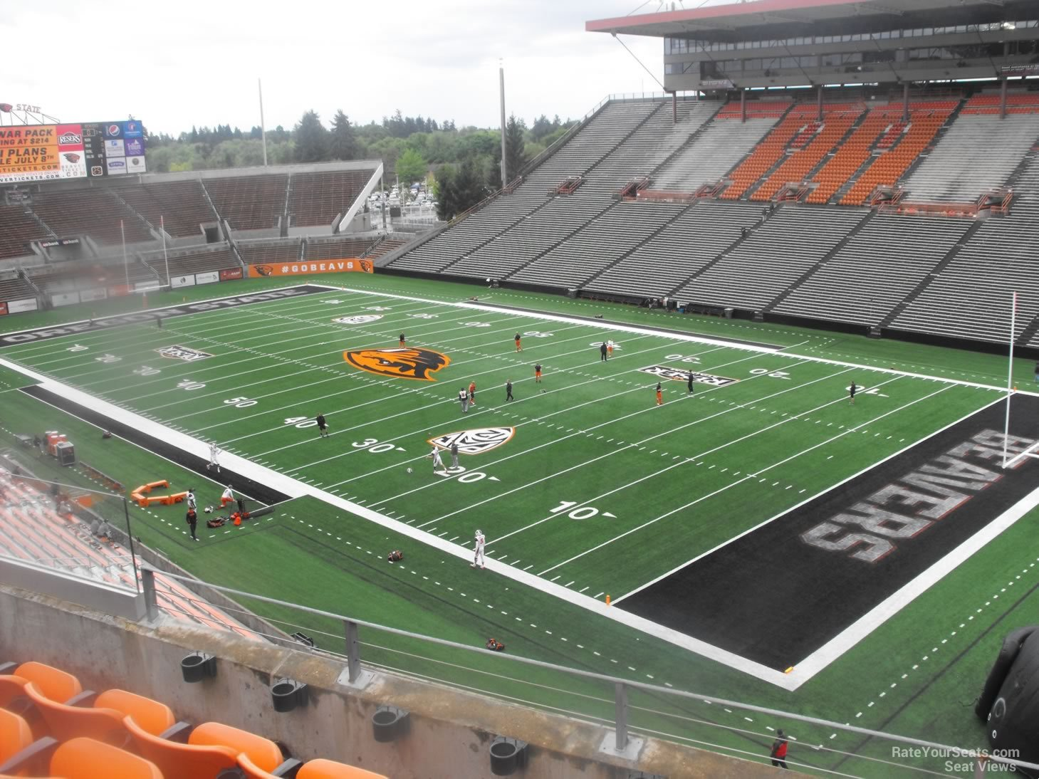 Reser Stadium Section 212 Rateyourseats Com