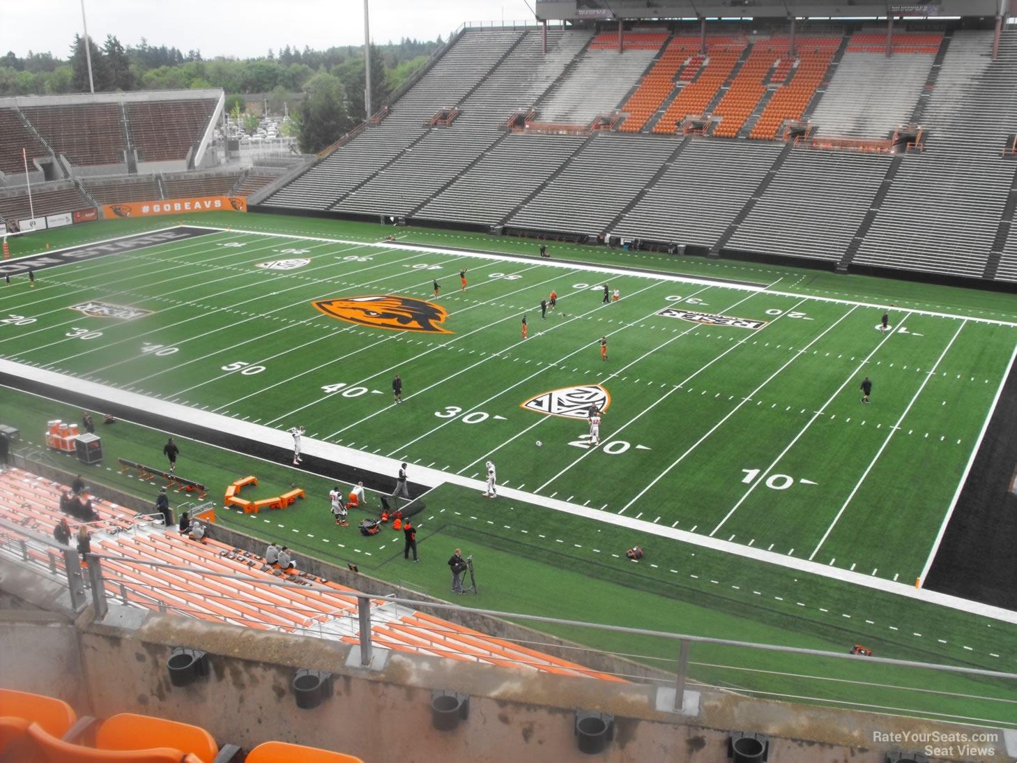 Reser Stadium Section 215 Rateyourseats Com