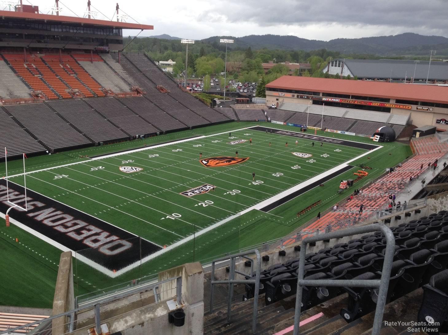 Reser Stadium Section 227 Rateyourseats Com