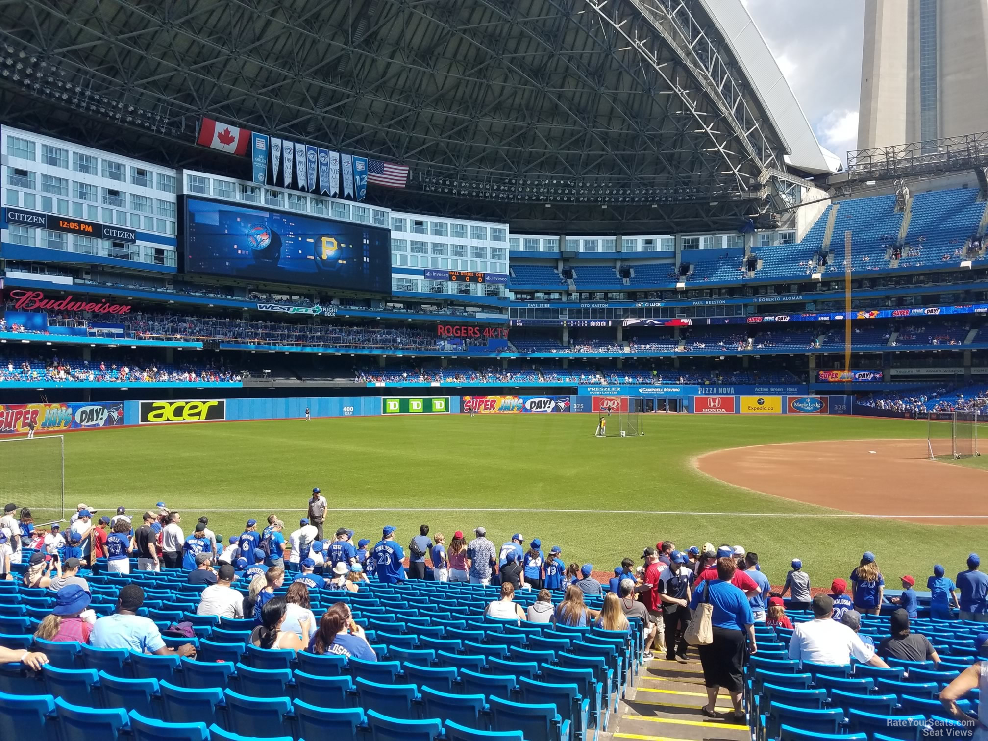 Rogers Centre Section 129 Toronto Blue Jays