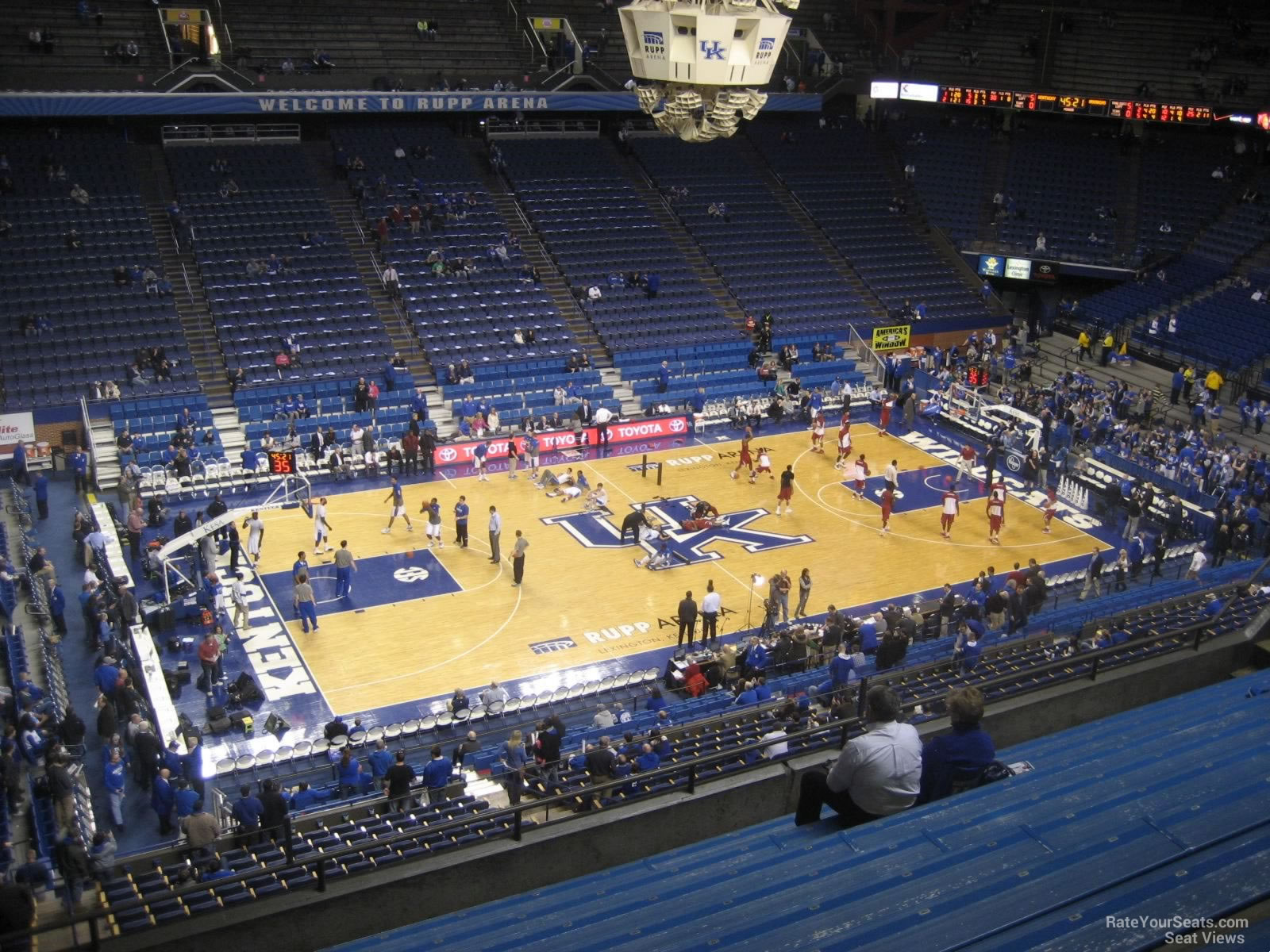 Rupp Arena Section 215 Kentucky Basketball