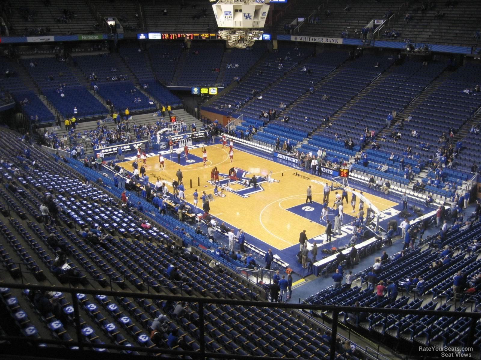 Rupp Arena Section 227 Kentucky Basketball