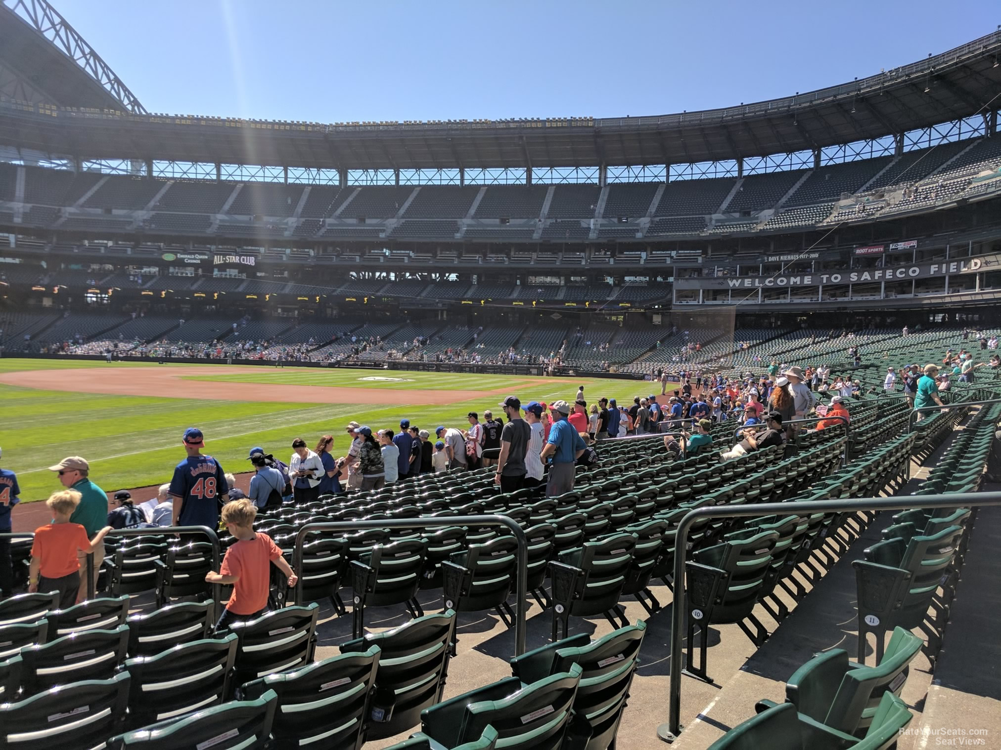 Safeco Field Section 146 - Seattle Mariners ...