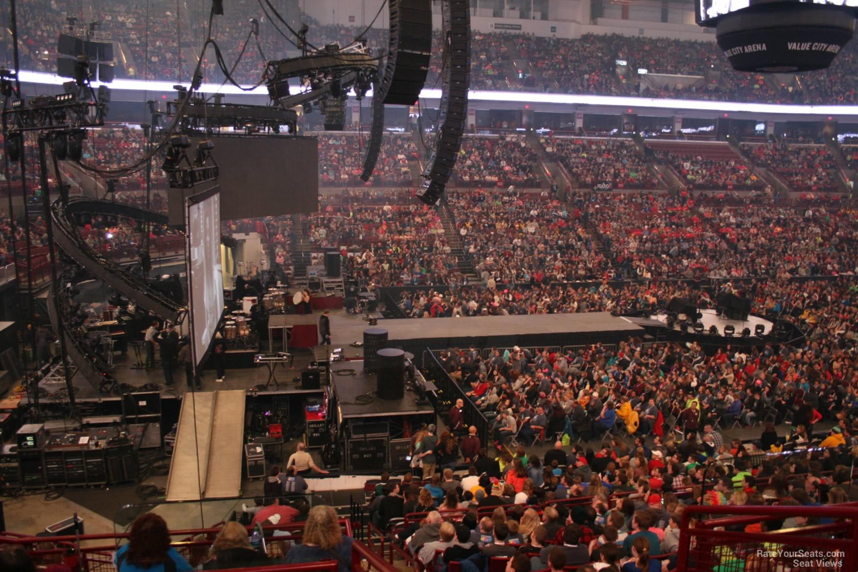 Schottenstein Center Section 208 Concert Seating ...