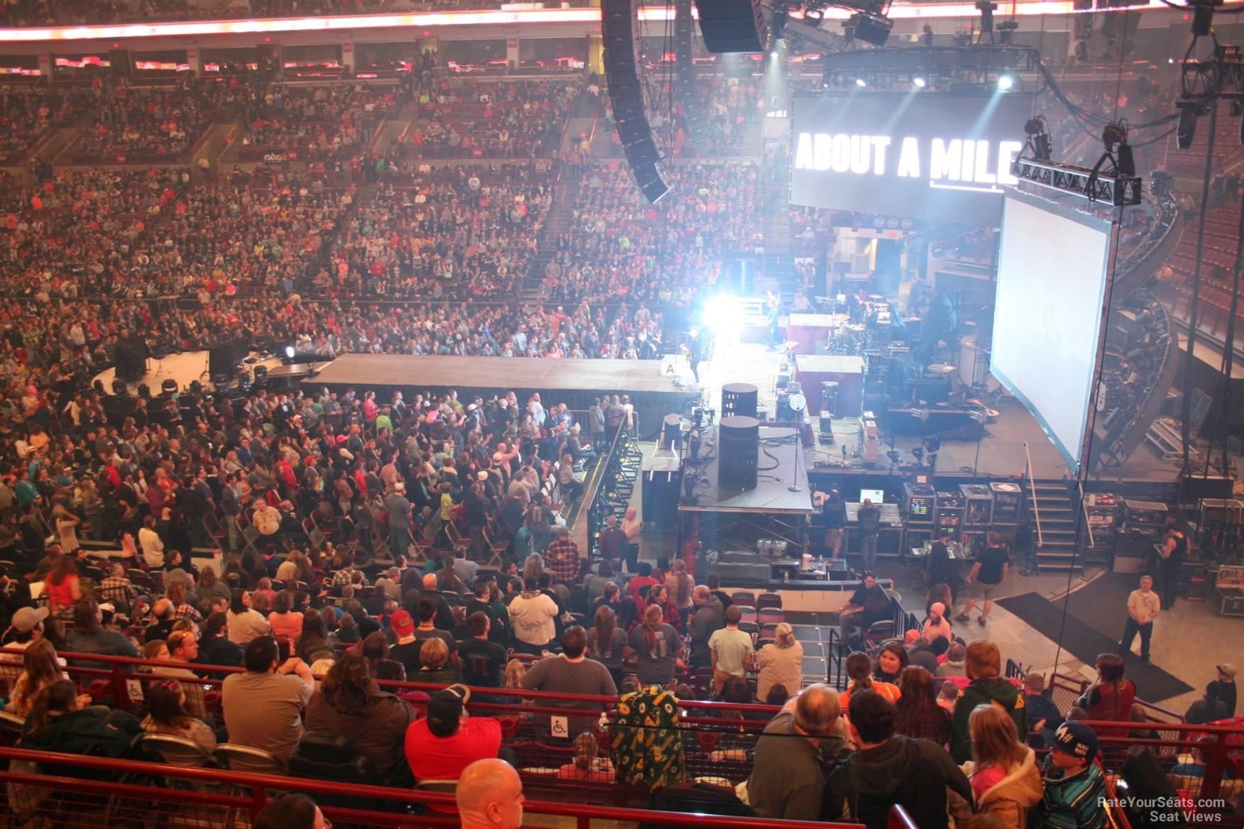 Schottenstein Center Section 221 Concert Seating