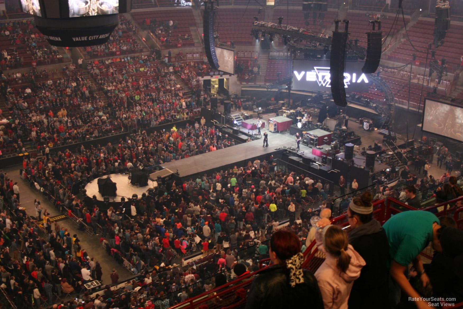 Schottenstein Center Section 324 Concert Seating