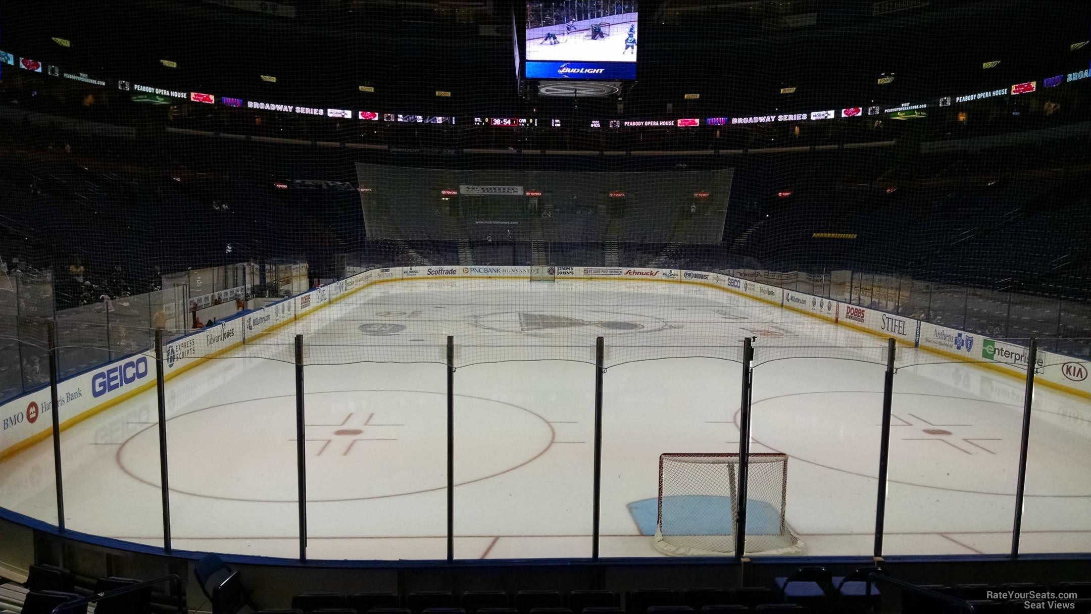 Scottrade Center Section 123 St Louis Blues