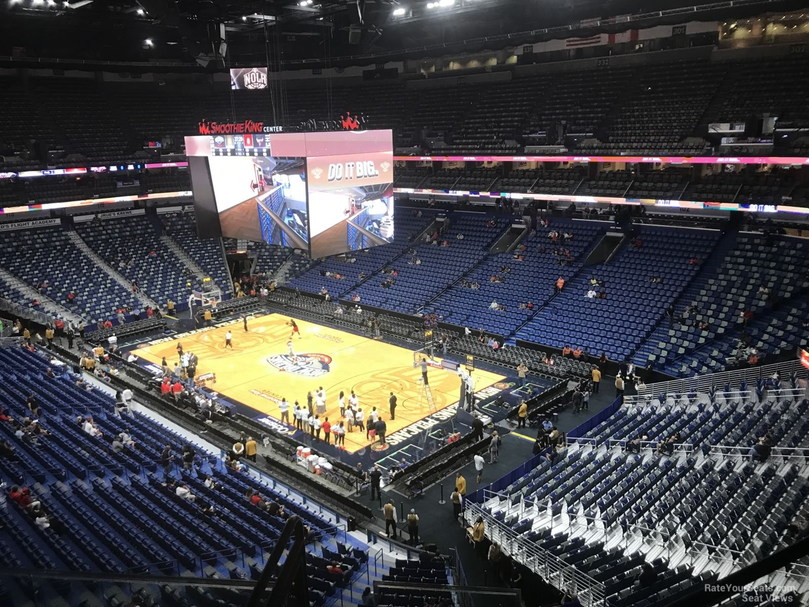 Smoothie King Center Section 312 New Orleans Pelicans