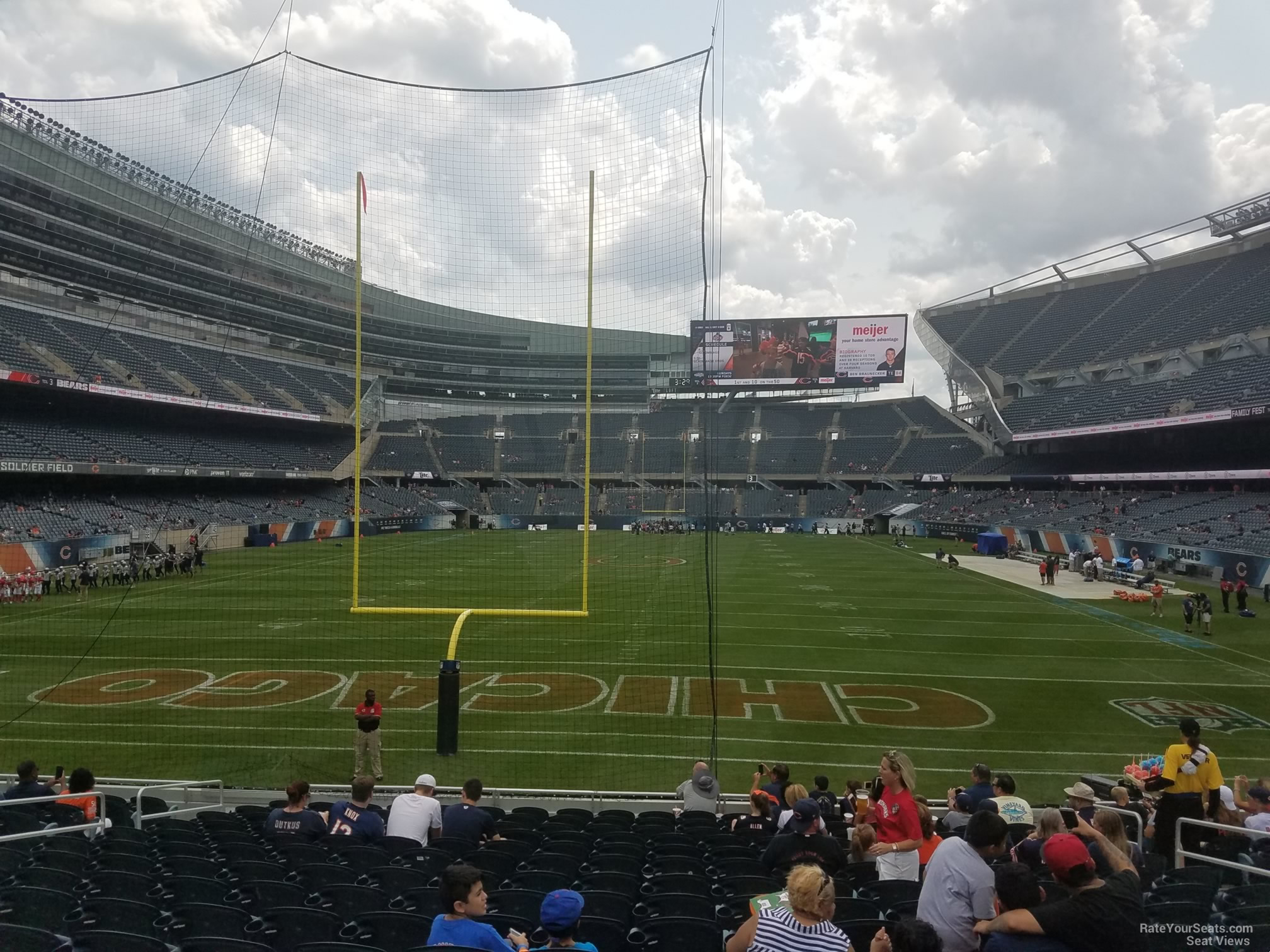 Soldier Field Section 151 Chicago Bears Rateyourseats Com