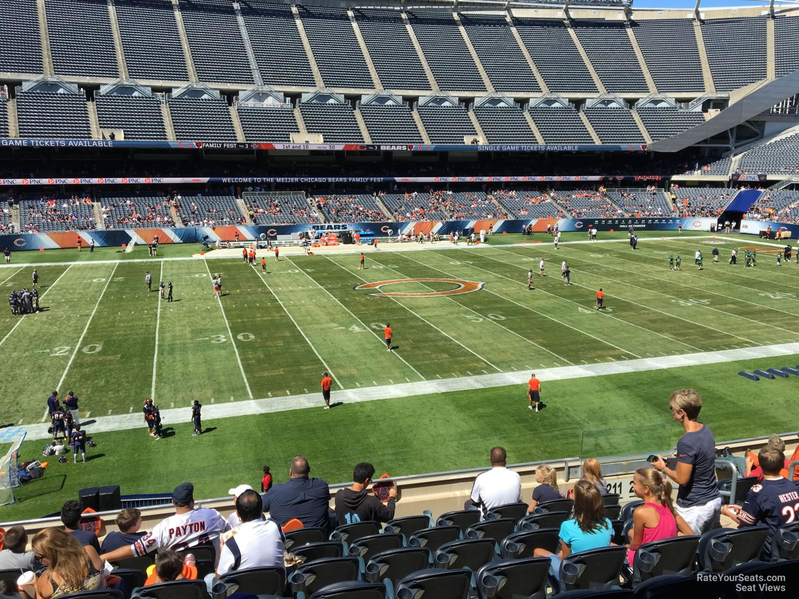 Soldier Field Section 211 Chicago Bears