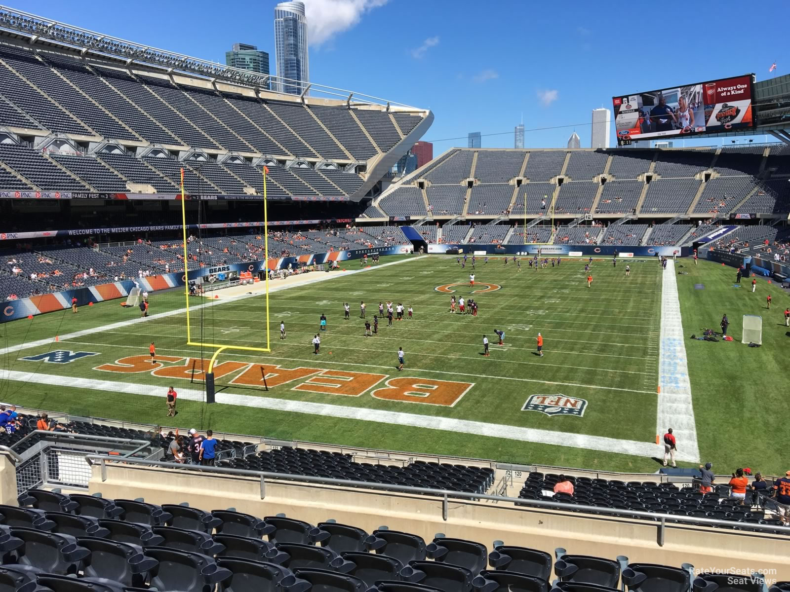 Soldier Field Section 220 Chicago Bears Rateyourseats Com