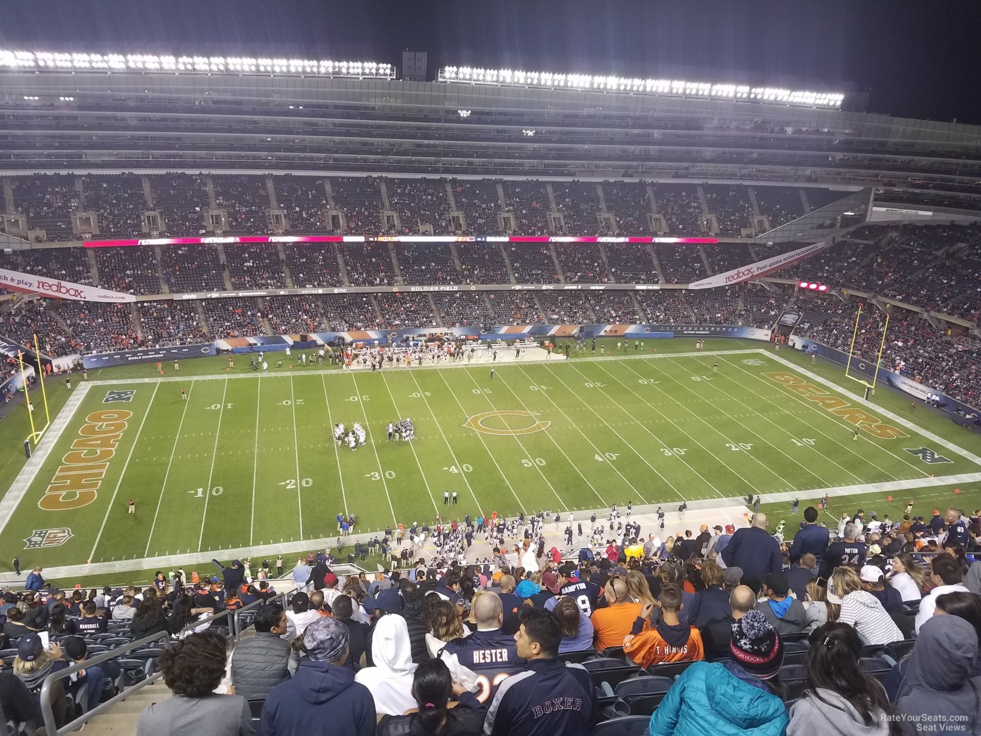 Soldier Field Section 439 Chicago Bears Rateyourseats Com