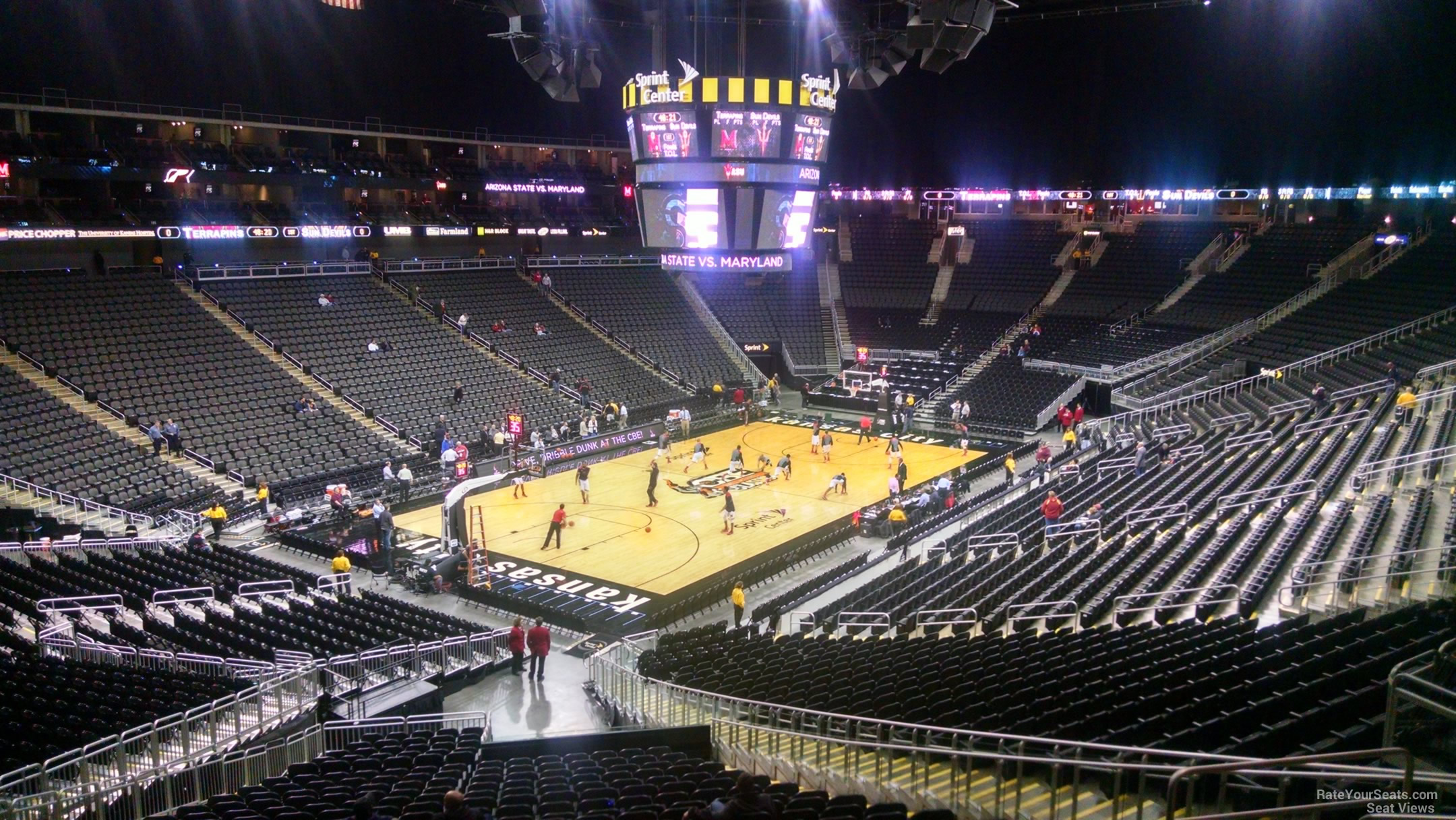 Sprint Center Section ...T Bar Rows