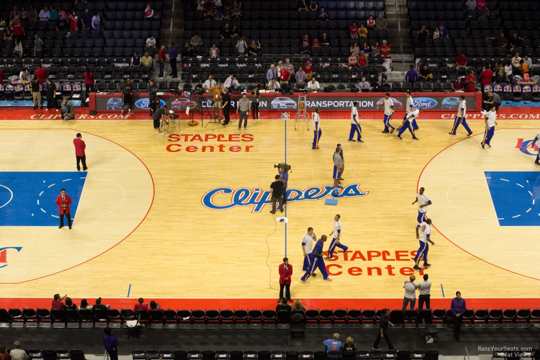 Staples Center Section 318 - Clippers/Lakers ...
