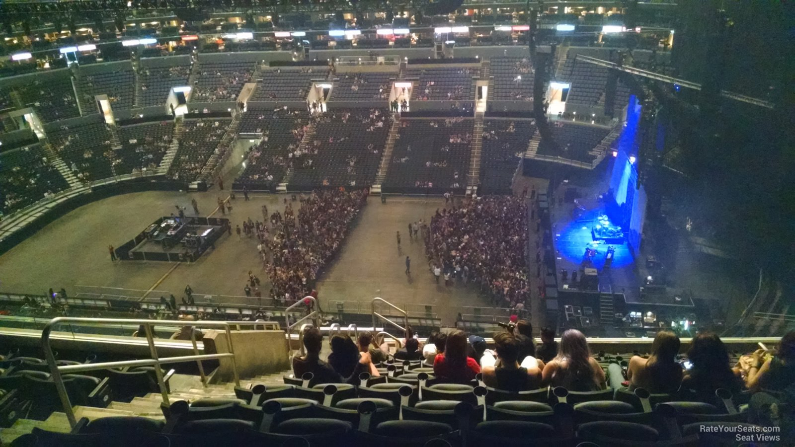 Staples Center Section 333 Concert Seating - RateYourSeats.com