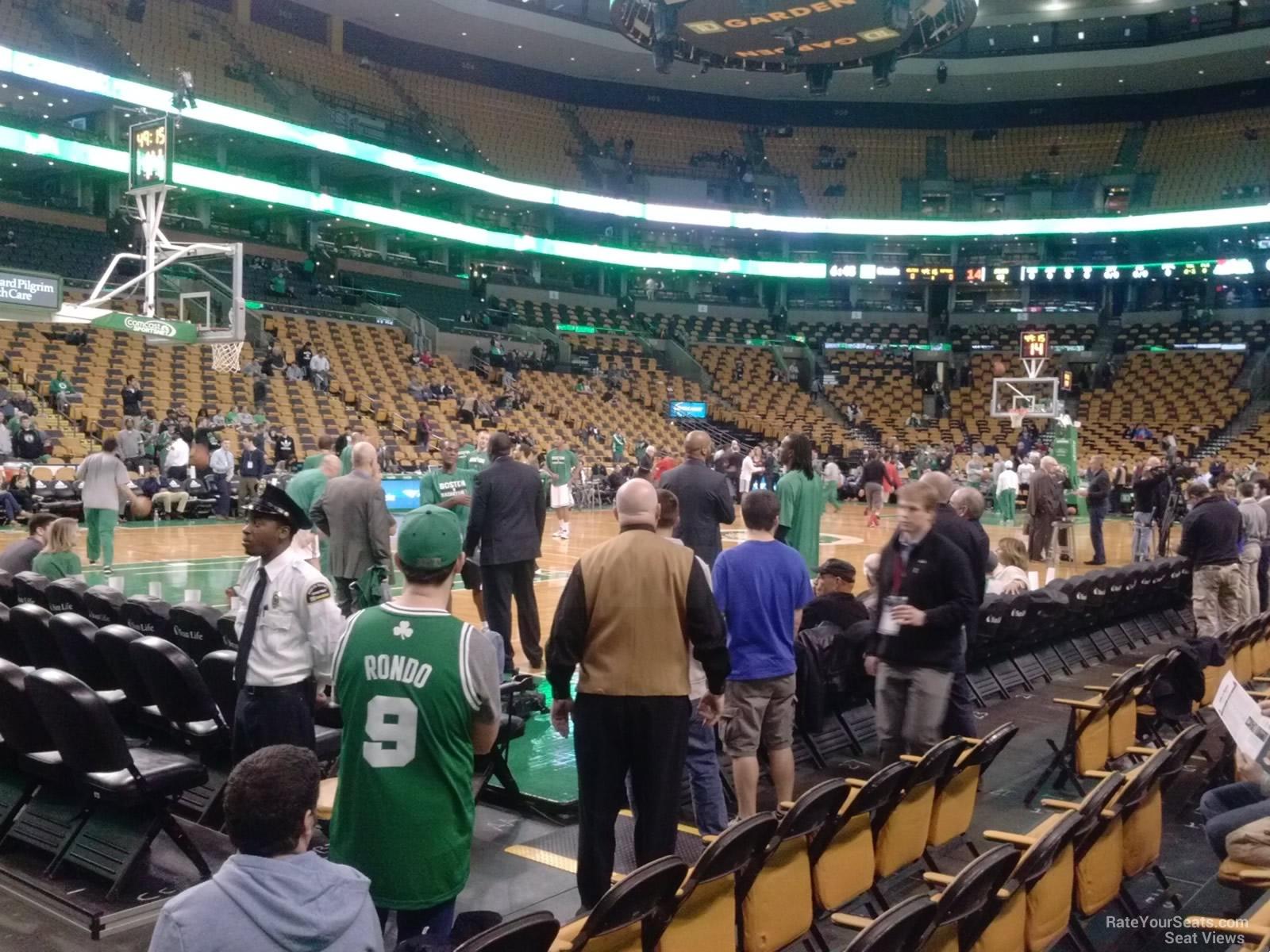 Td Garden Loge 14 Boston Celtics Rateyourseats Com