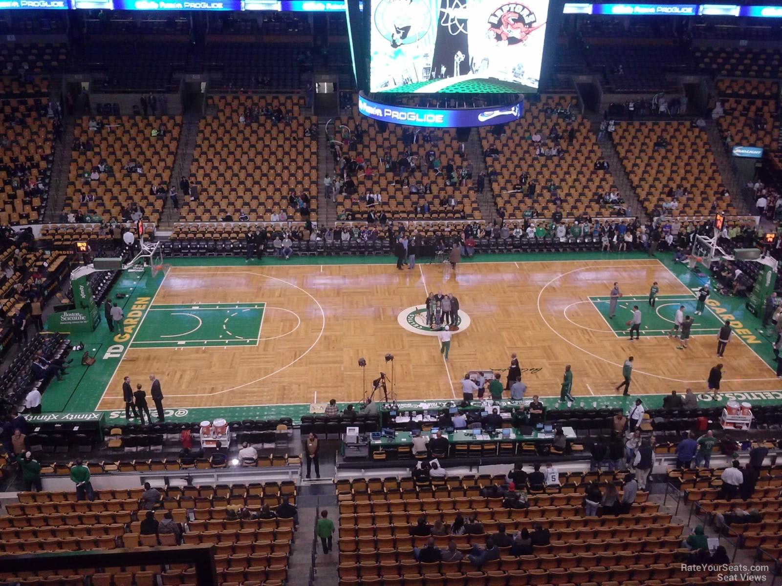 Td Garden Section 301 Boston Celtics Rateyourseats Com