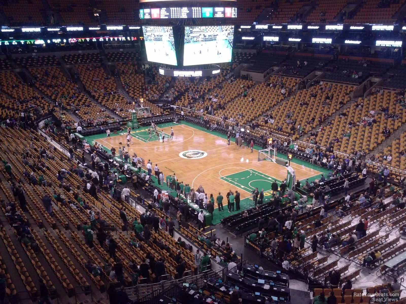Td Garden Section 326 Boston Celtics Rateyourseats Com
