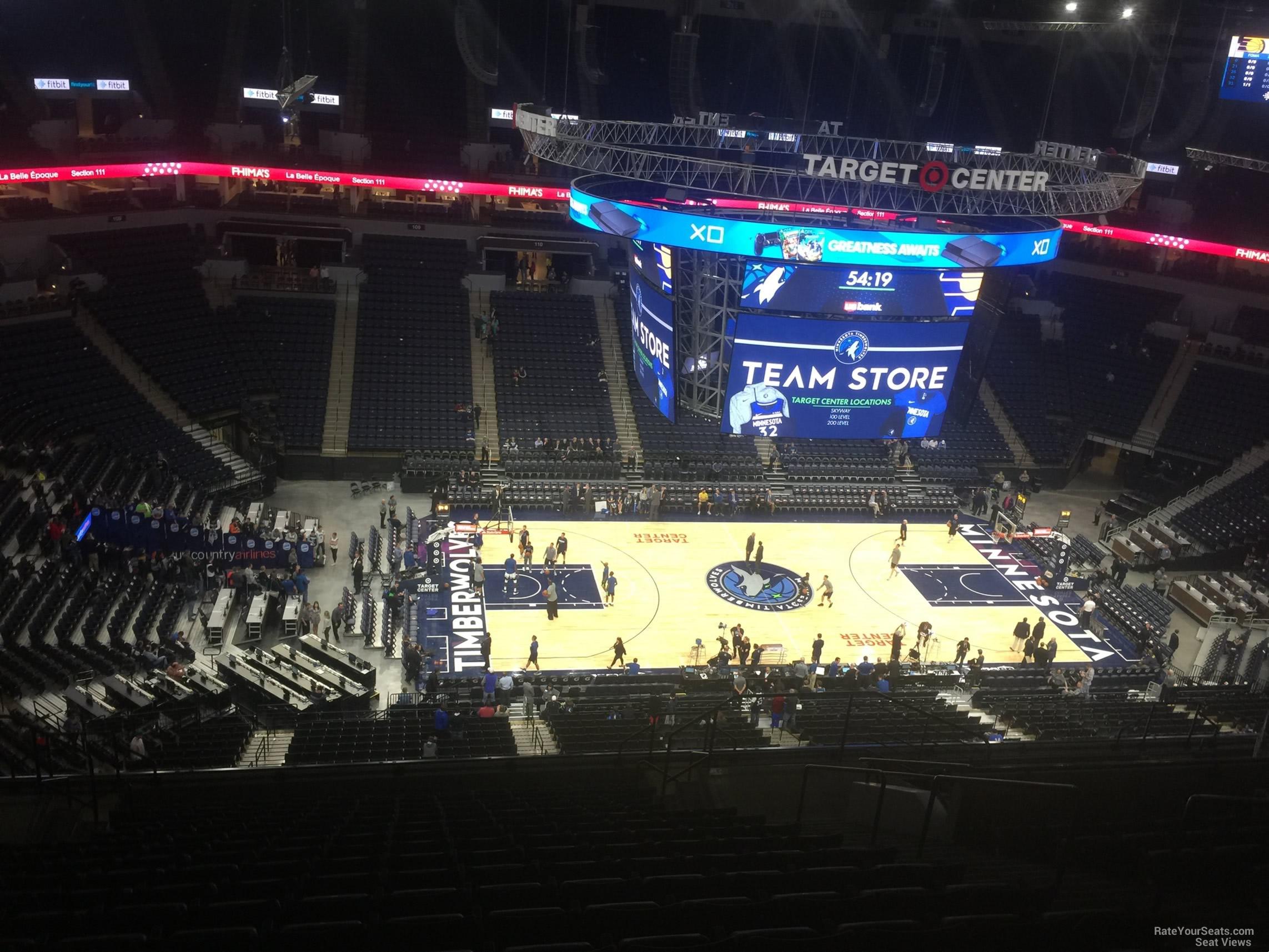 Target Center Section 233 - Minnesota Timberwolves ...