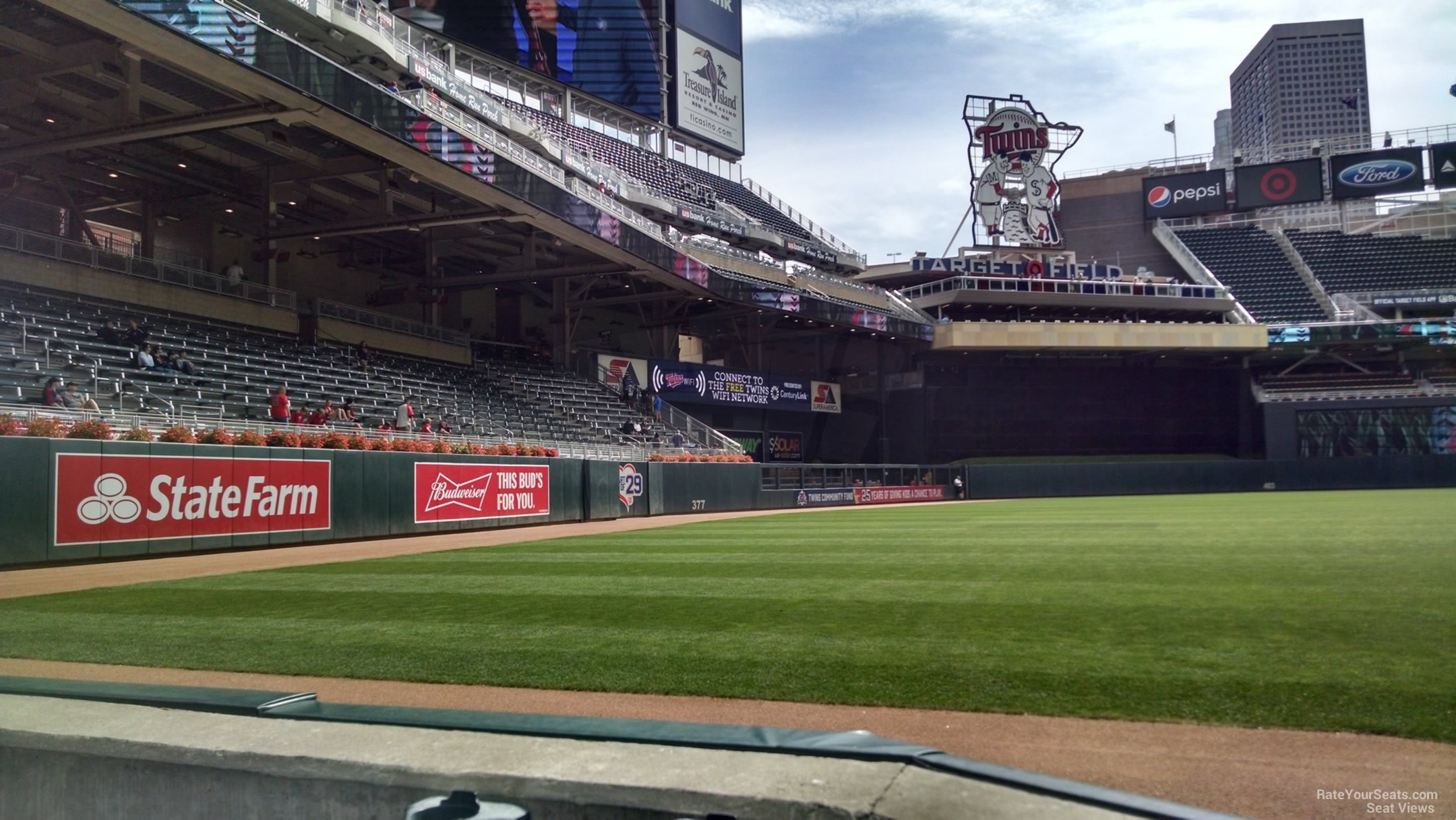 Target Field Section 126 Rateyourseats Com