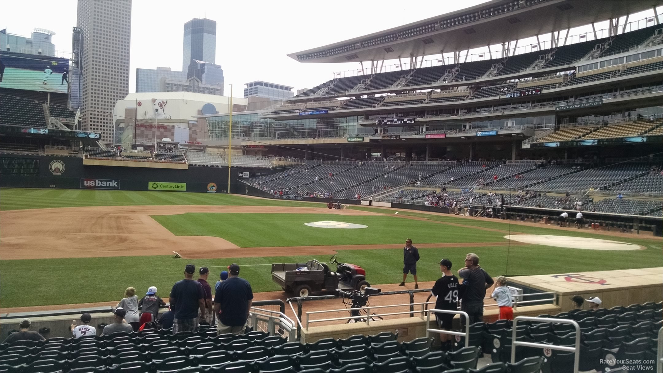 Target Field Section 14 - RateYourSeats.com