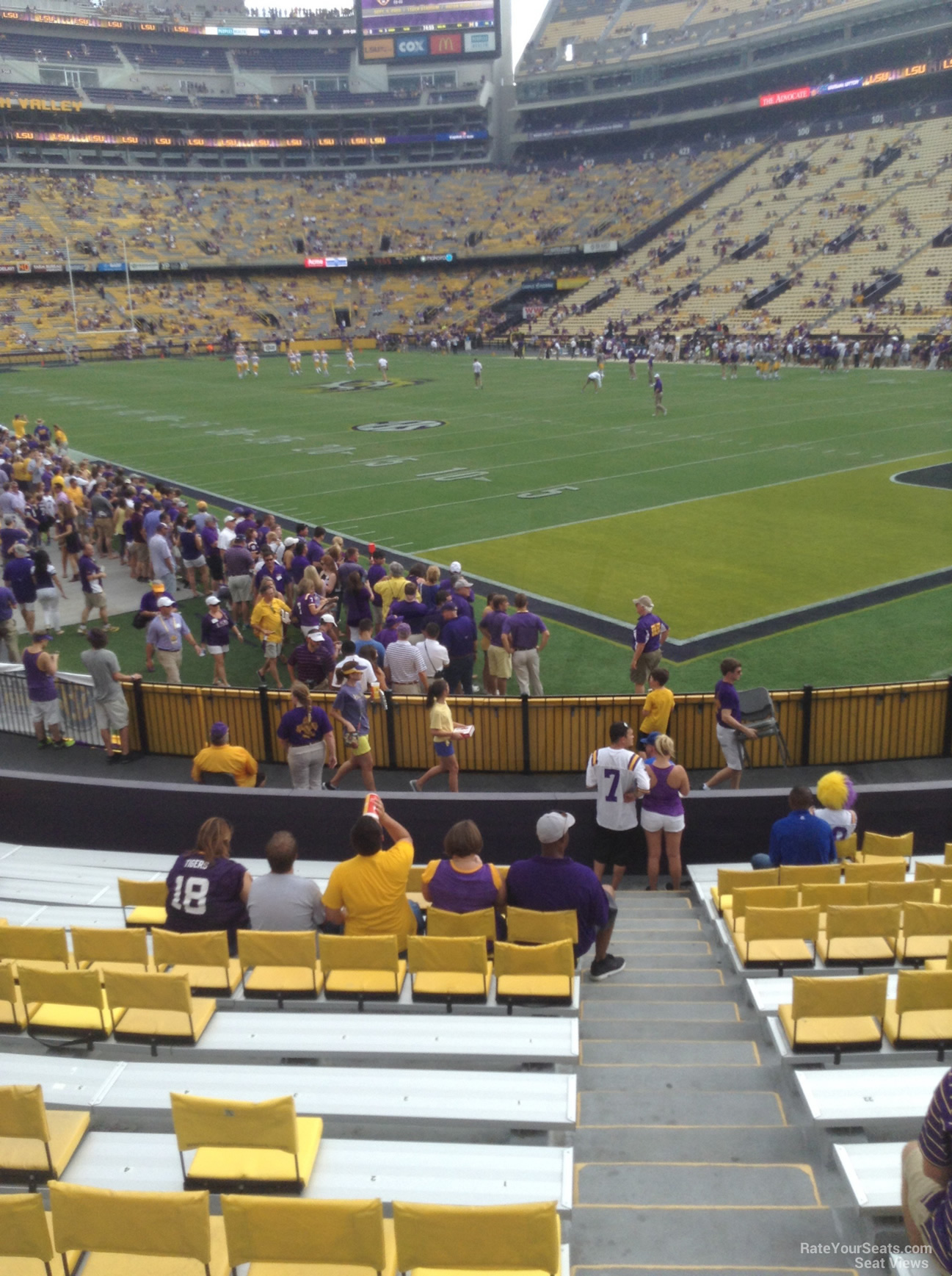 Section 213, Row 1