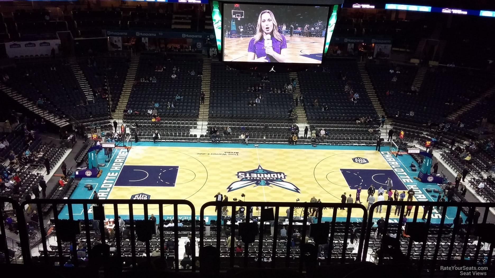 Spectrum Center Section 209 Charlotte Hornets