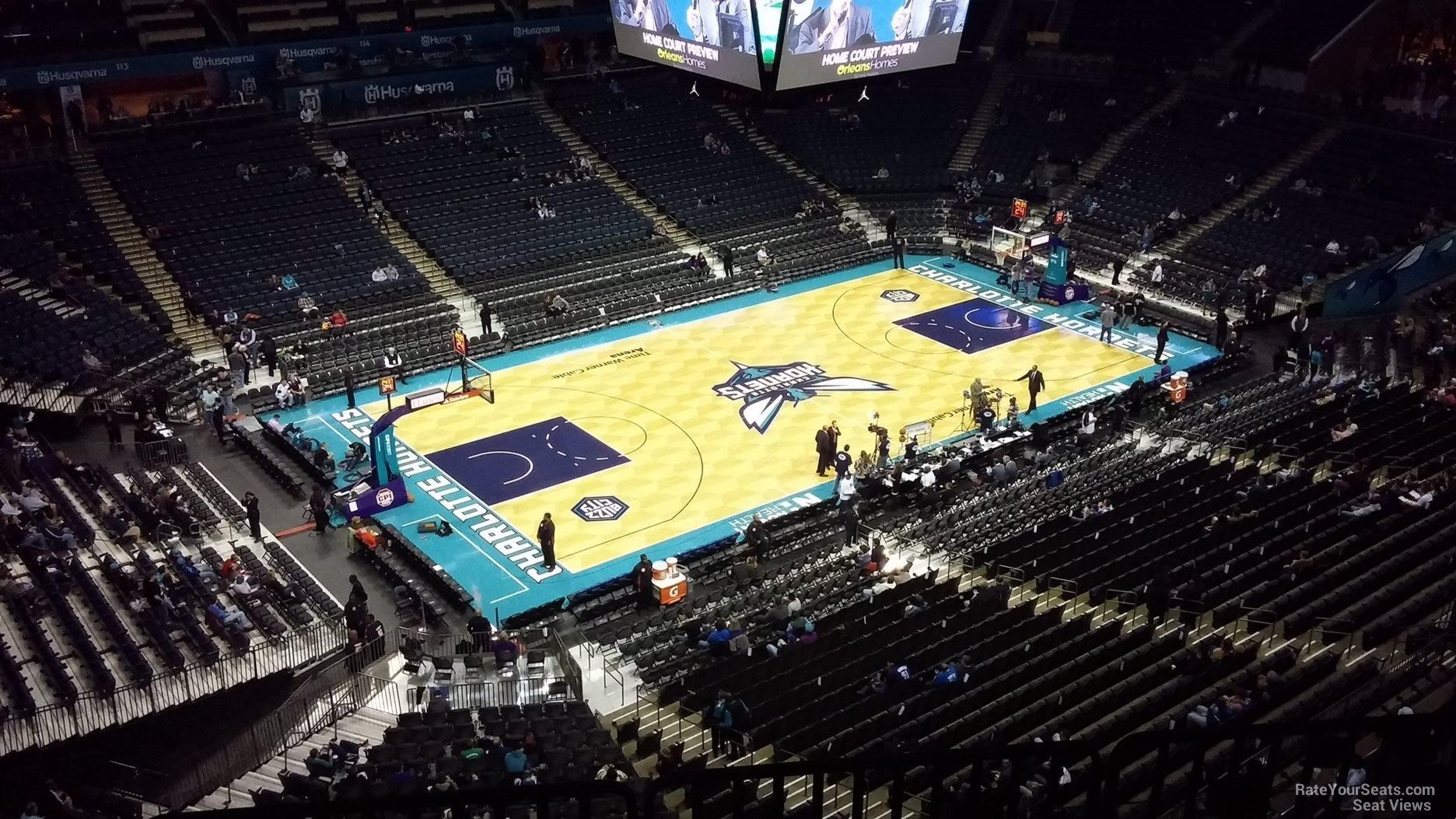 Spectrum Center Section 212 Charlotte Hornets