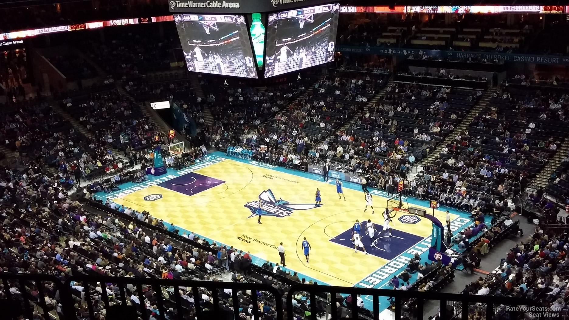 Spectrum Center Section 222 Charlotte Hornets
