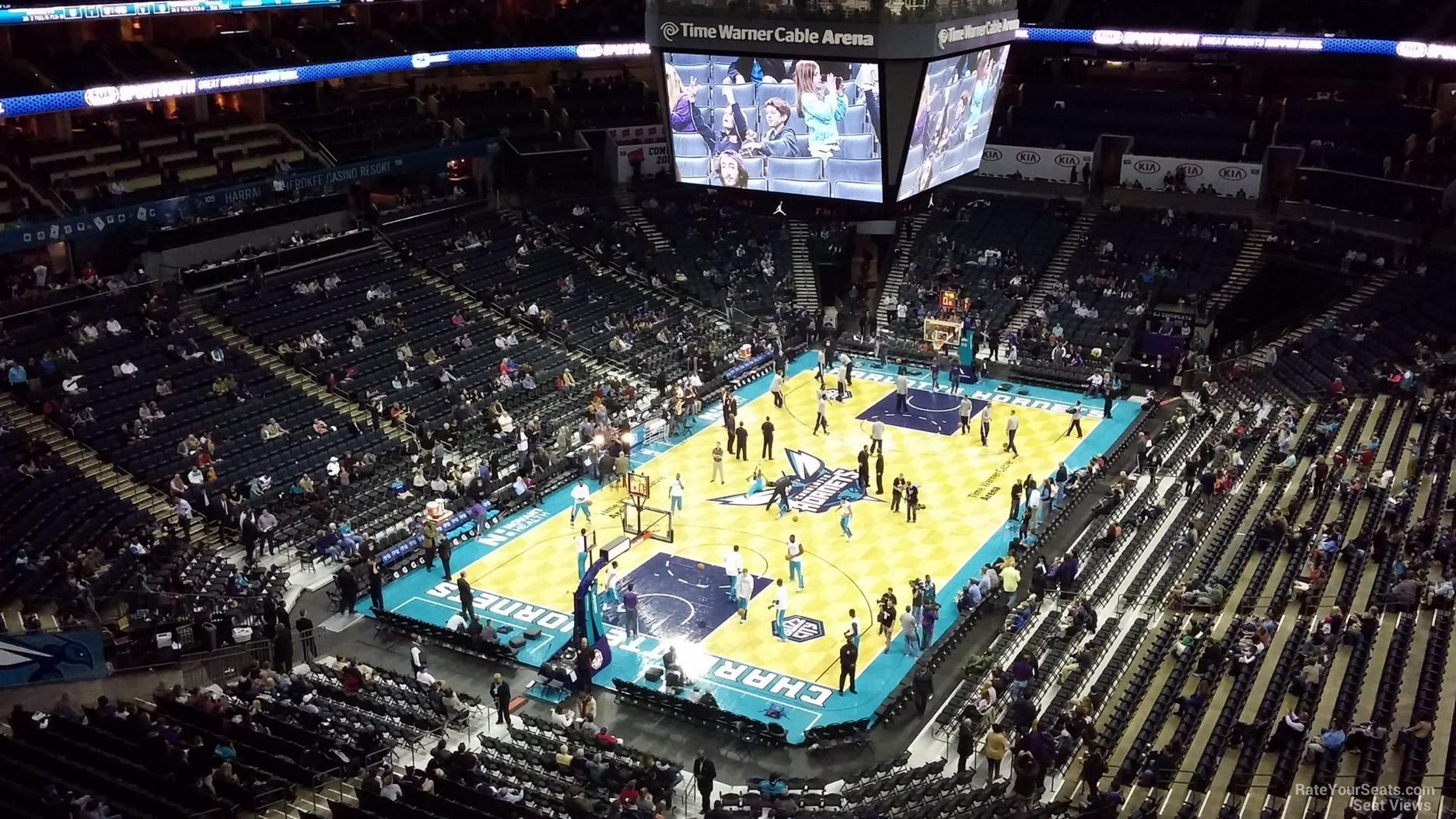 Spectrum Center Section 231 Charlotte Hornets