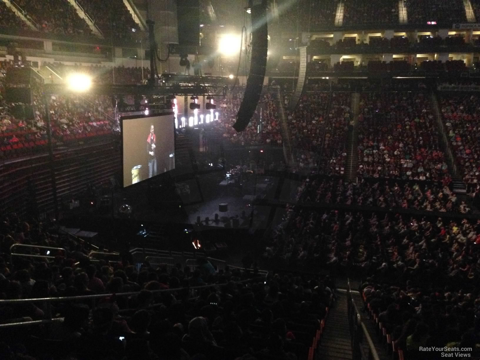 Toyota Center Section 122 Concert Seating Rateyourseats Com