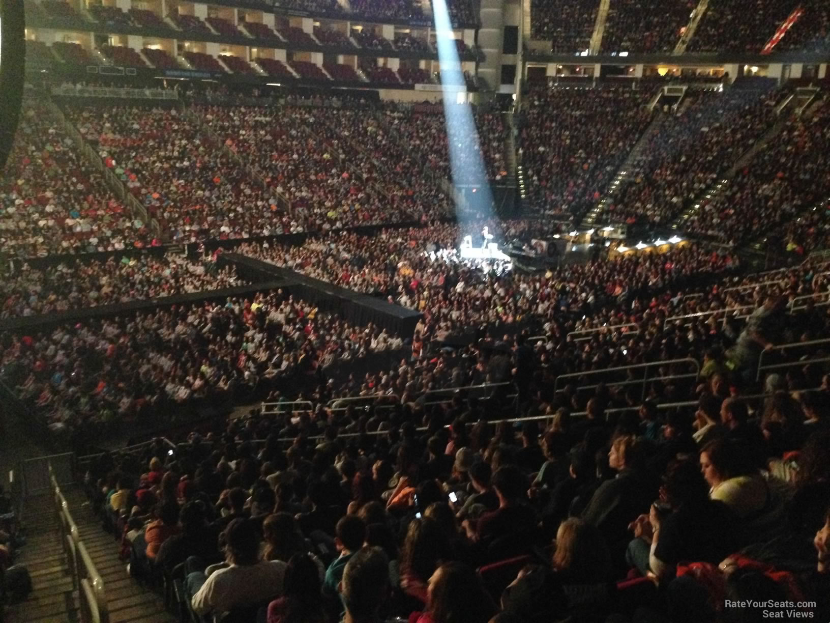 Toyota Center Section 123 Concert Seating Rateyourseats Com