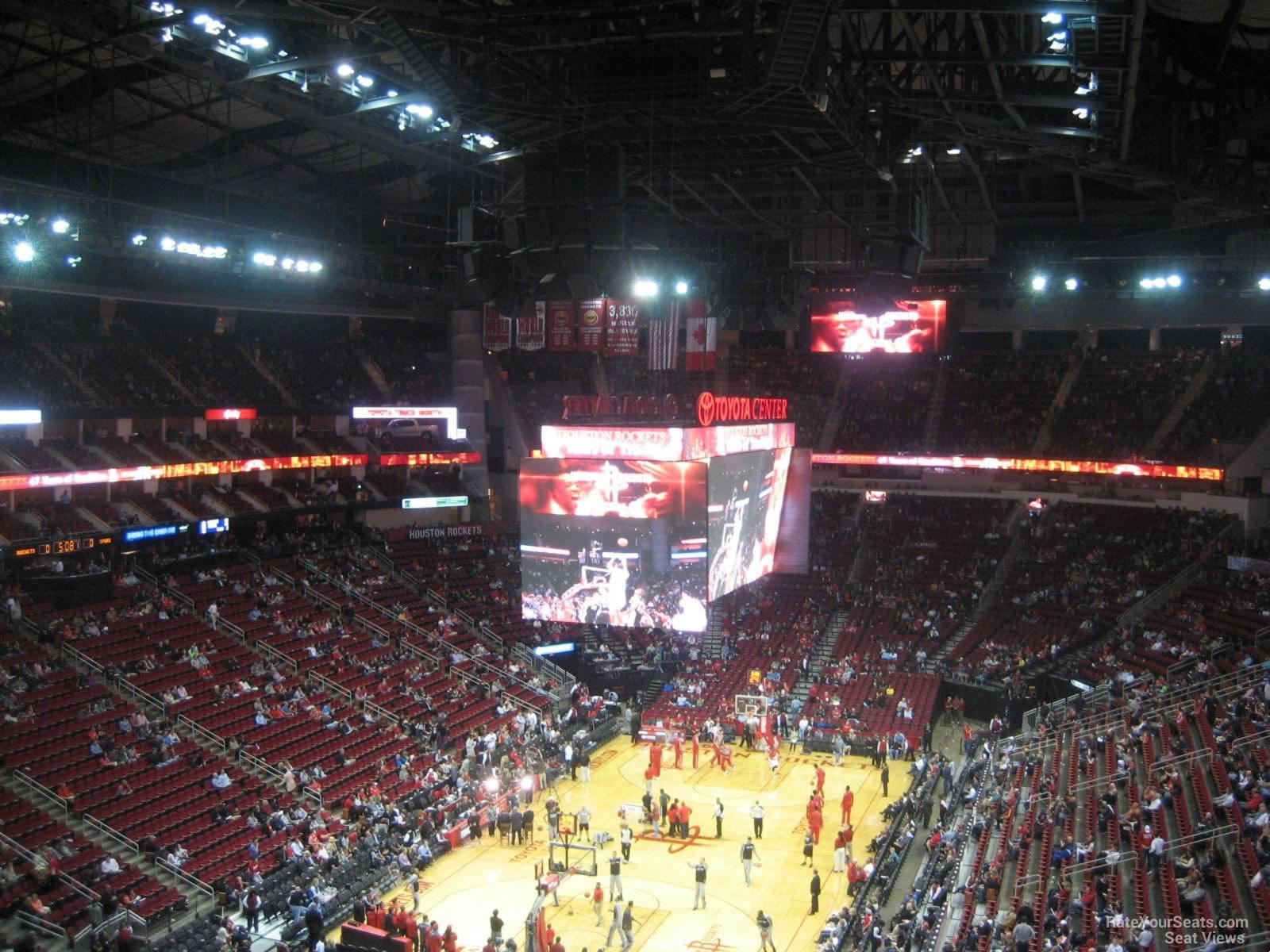 Toyota Center Section 416 Houston Rockets